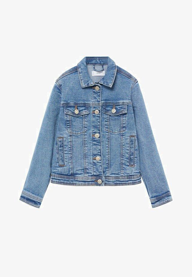 ALLEGRA - Veste en jean - bleu moyen