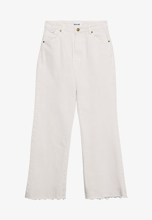 EASTCOAST CROP - Flared Jeans - salt