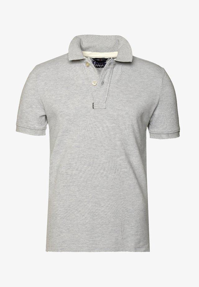 Polo shirt - silver