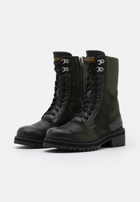G-Star - DUTY UTILITY BOOT - Lace-up ankle boots - dark combat/black - 2
