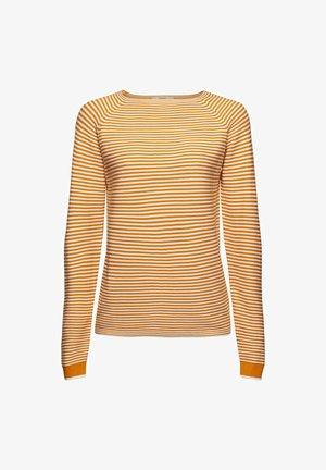 Jumper - honey yellow