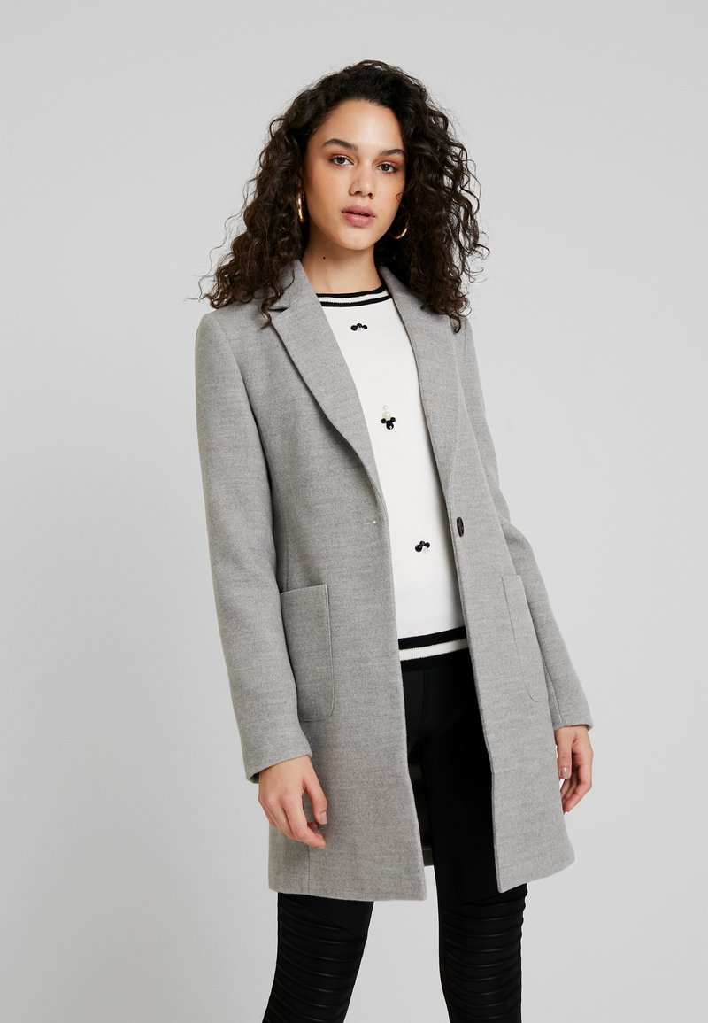 TWINTIP - Classic coat - grey melange