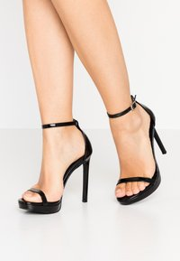 Steve Madden - MILANO - High heeled sandals - black - 0