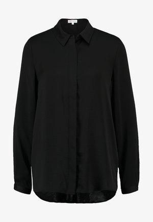 BLAIR - Button-down blouse - black