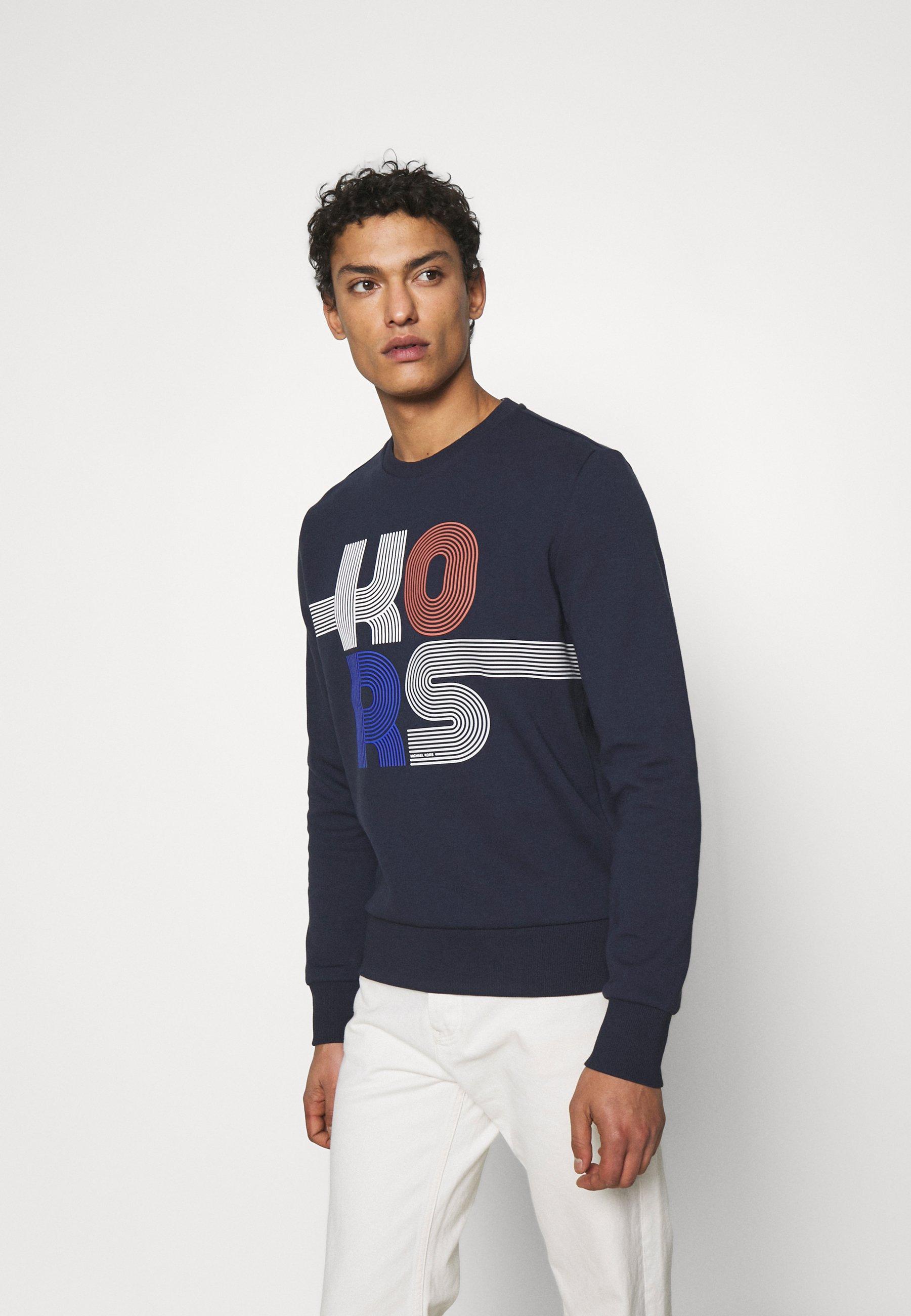 Men STACKED STRIPED - Sweatshirt