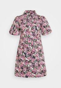 Vero Moda Petite - VMANNELINE DRESS - Košilové šaty - black/yellow - 5