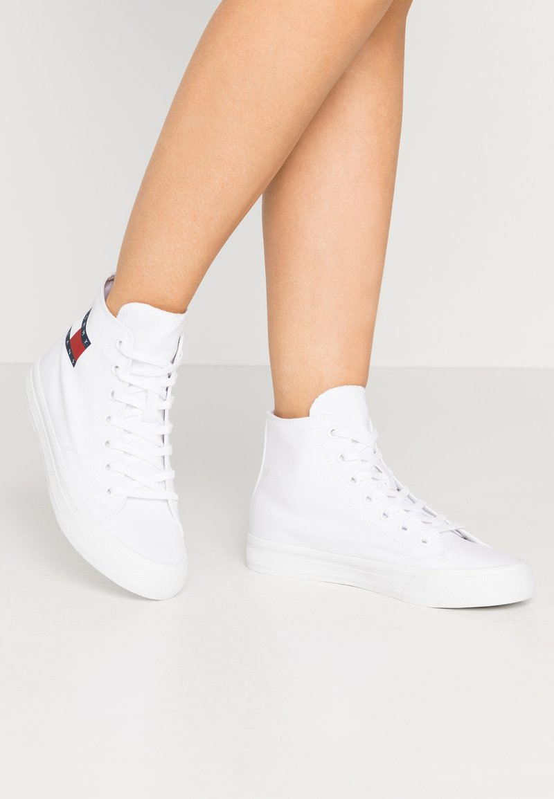 Tommy Jeans - Baskets montantes - white