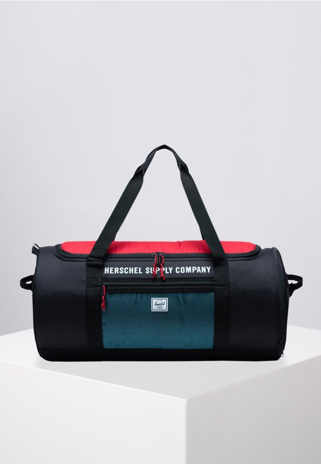 Sports bag - black/red