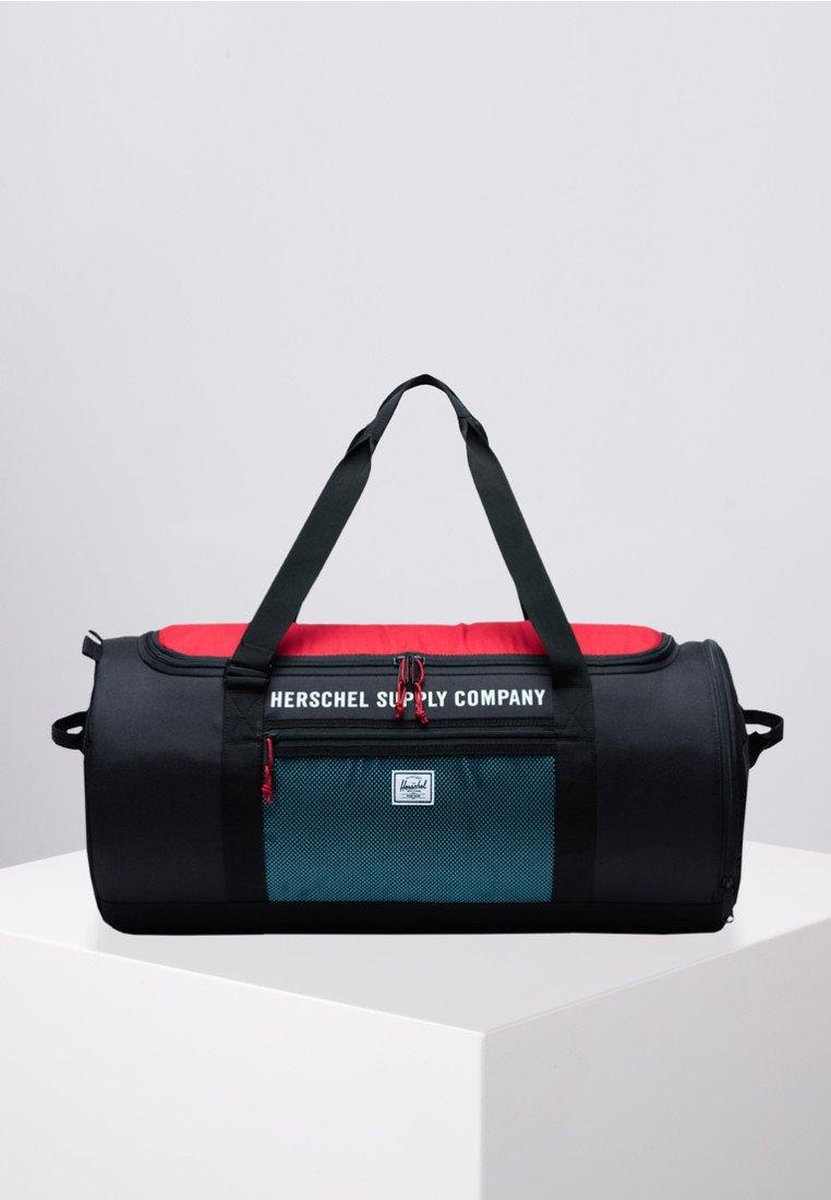 Herschel - Sports bag - black/red