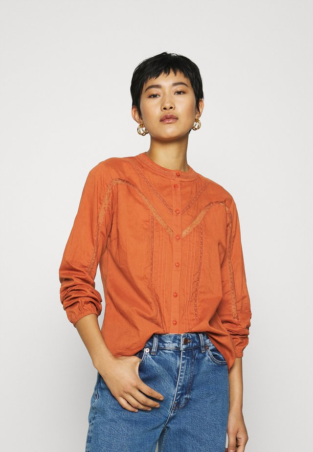 STELLA SHIRT - Blouse - metallic red