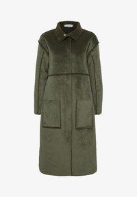 Denim Hunter - DHBELLE SHEARLING COAT - Płaszcz wełniany /Płaszcz klasyczny - forest night - 8