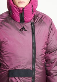 adidas Performance - URBAN COLD RDY OUTDOOR JACKET 2 IN 1 - Down jacket - power berry - 7