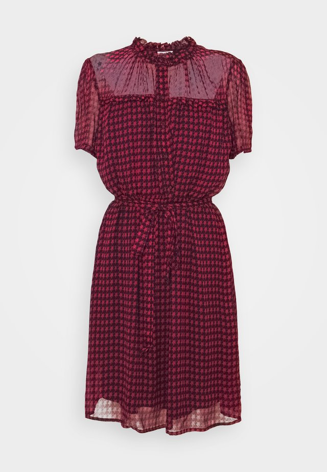 ABITOCORTO - Shirt dress - fuxia star