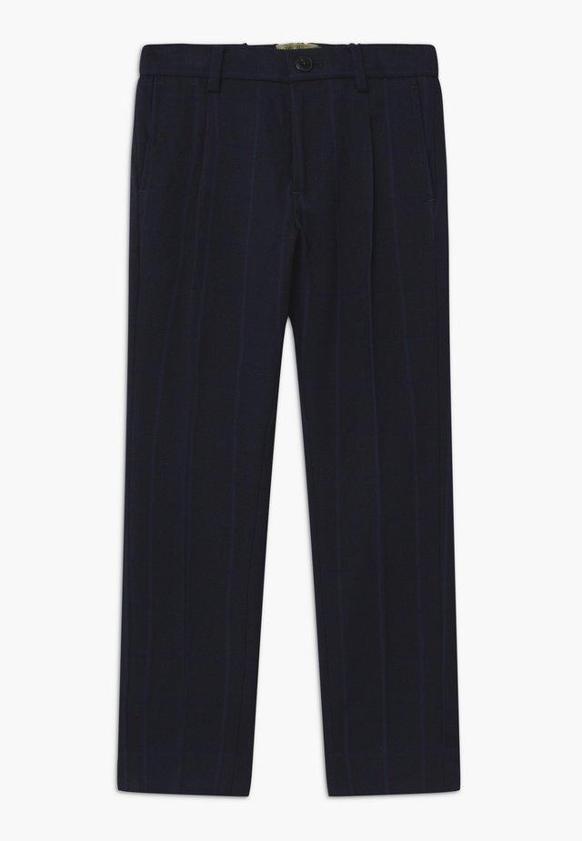 SLIM FIT - Pantalon de costume - blue