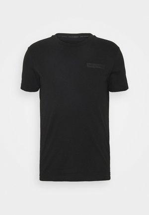 T-SHIRT CREWNECK - Basic T-shirt - black