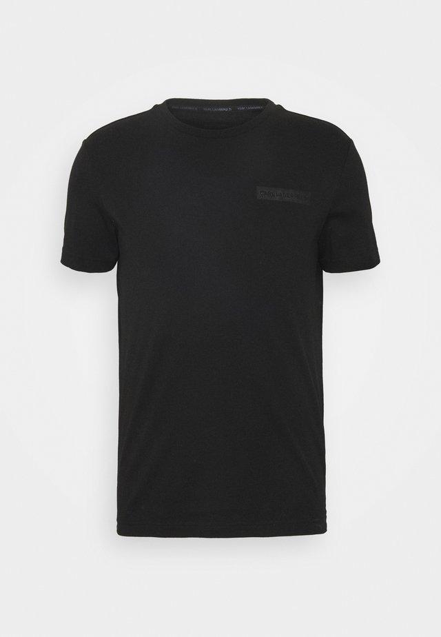 T-SHIRT CREWNECK - T-Shirt basic - black