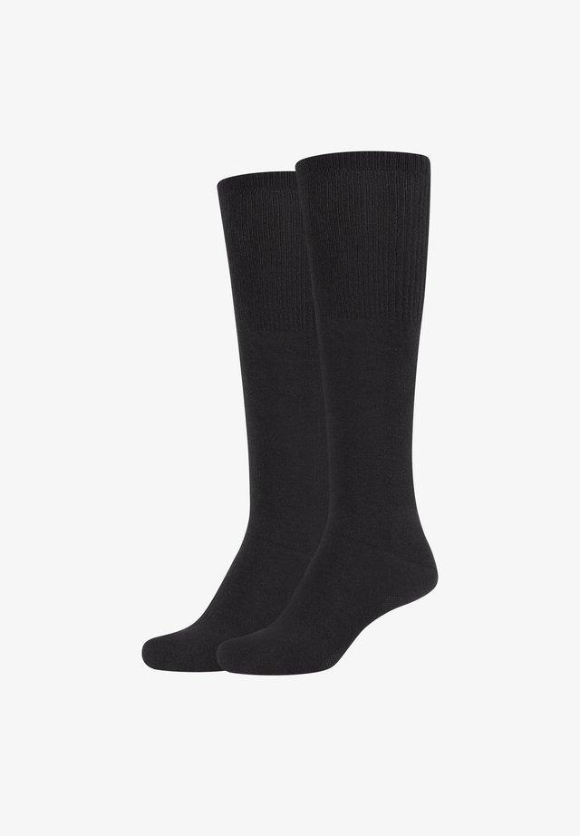 GRACE - Knee high socks - black