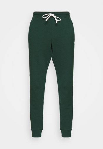 LOOPBACK TERRY PANT ATHLETIC - Verryttelyhousut - college green/chic cream