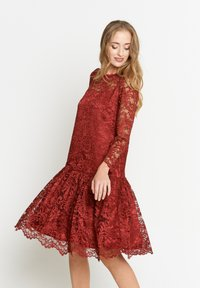 Madam-T - OTTILIANA - Cocktail dress / Party dress - weinrot - 5