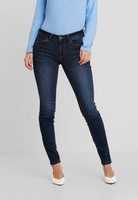 TOM TAILOR DENIM - JONA - Jeans Skinny Fit - dark stone wash - 0