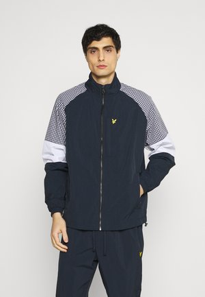 MIX TRACK JACKET - Verryttelytakki - dark navy