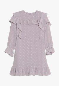Bardot Junior - ABBIE RUFFLE DRESS - Cocktail dress / Party dress - lilac - 0