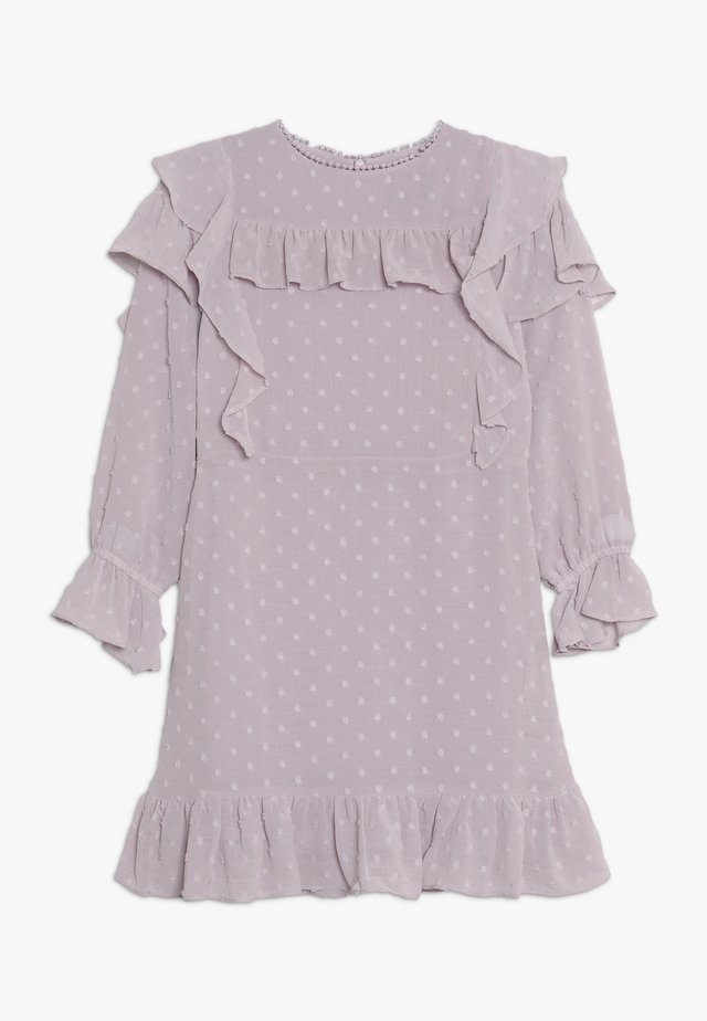 ABBIE RUFFLE DRESS - Cocktail dress / Party dress - lilac