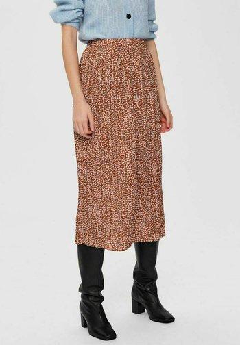 A-line skirt - glazed ginger