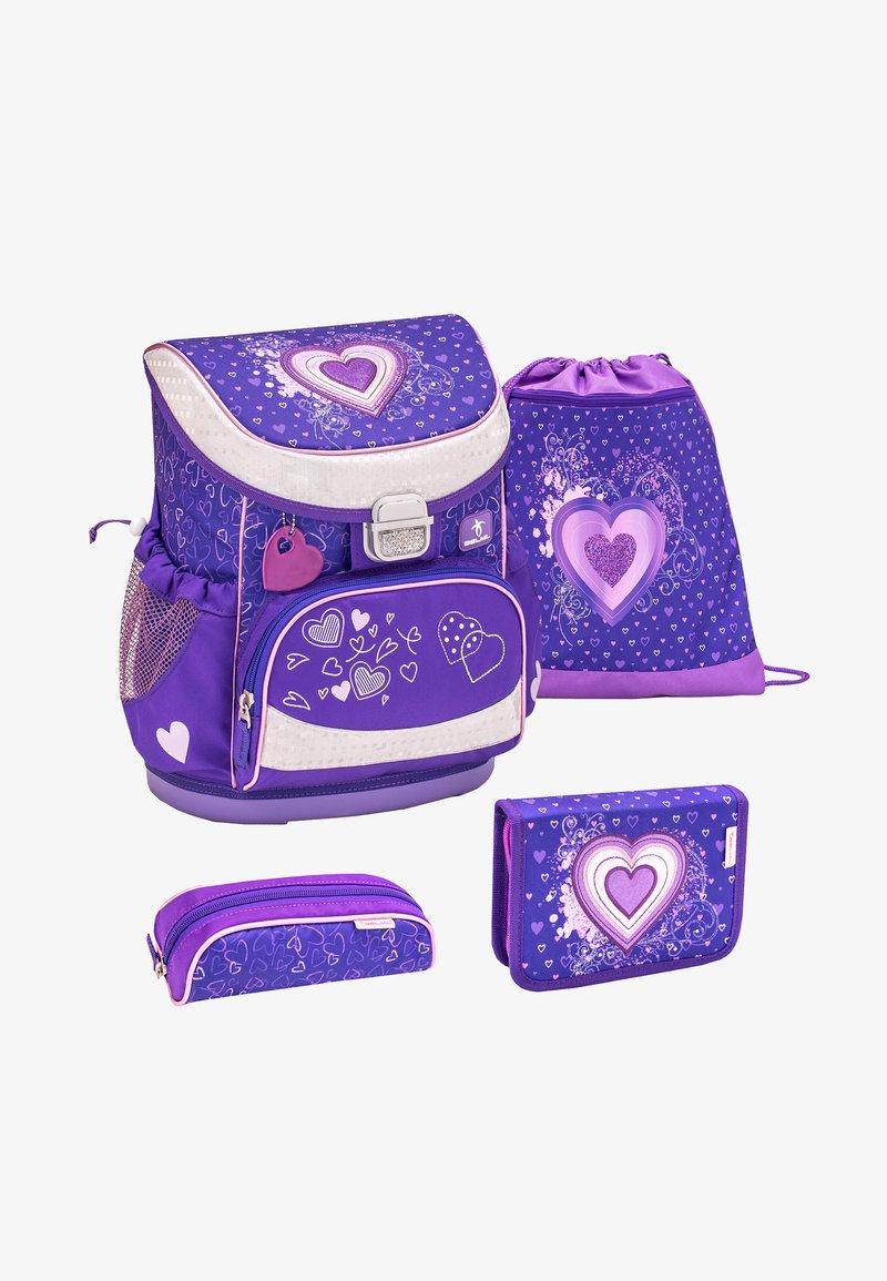 Belmil - SET - School bag - dark purple