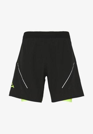 ALPINE PRO SHORTS - Pantalón corto de deporte - black out
