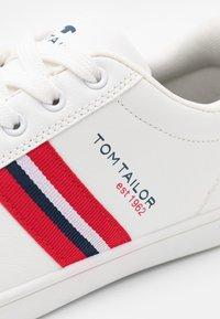 TOM TAILOR - Matalavartiset tennarit - white - 5