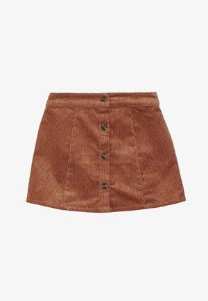 Mini skirt - auburn