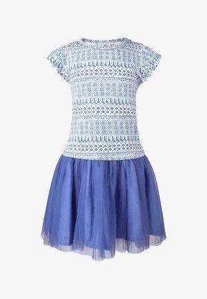 Day dress - royalblau