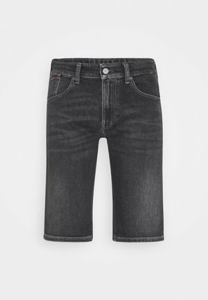 RONNIE - Denim shorts - barton black comfort
