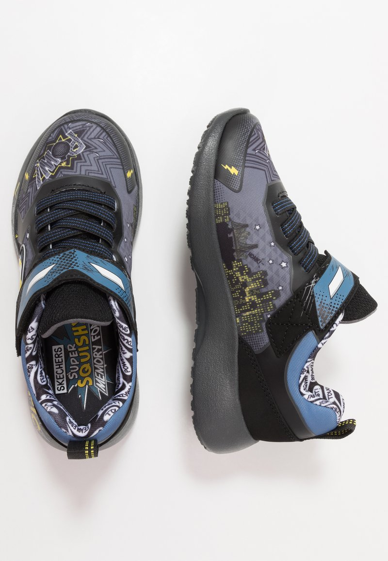 Skechers - DYNAMIGHT - Tenisky - charcoal/black/yellow