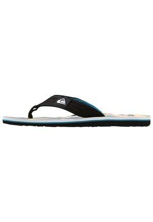 MOLOKAI LAYBACK - Pool shoes - black/white/blue