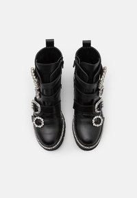 Dune London - PAGOLA - Cowboy/biker ankle boot - black - 4