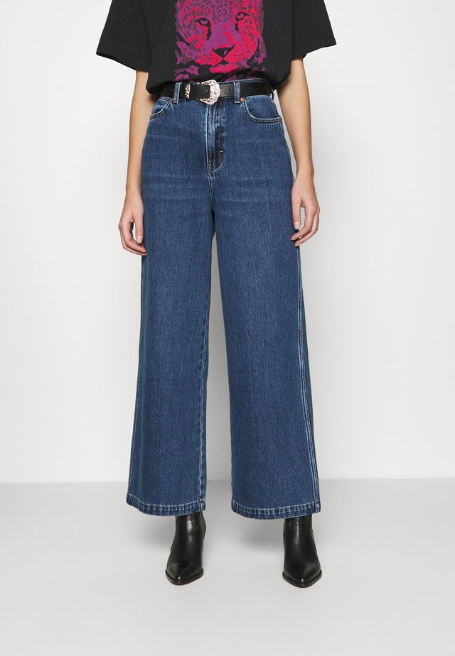 WORLD WIDE - Jeansy Relaxed Fit - ranch blue