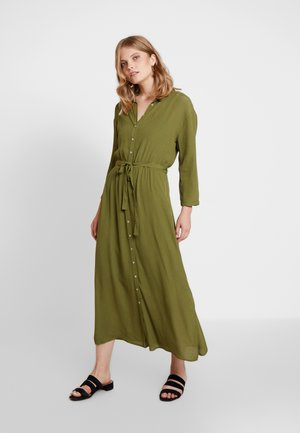 VIKA - Vapaa-ajan mekko - olive