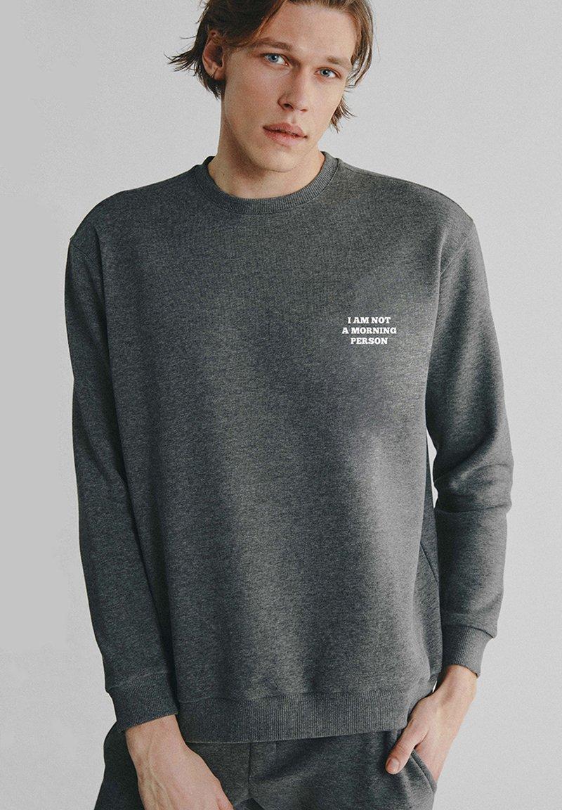 PSC - MORNING PERSON - Sweatshirt - dark grey