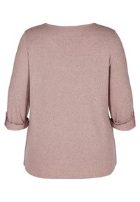 Zizzi - Long sleeved top - rose - 4