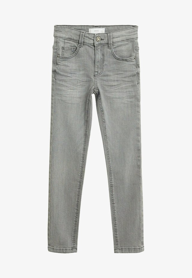 SLIM - Slim fit jeans - szary denim