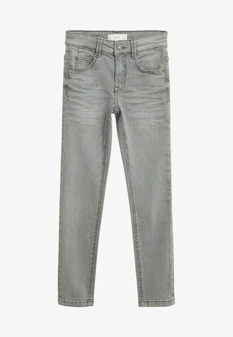 Mango - SLIM - Slim fit jeans - szary denim