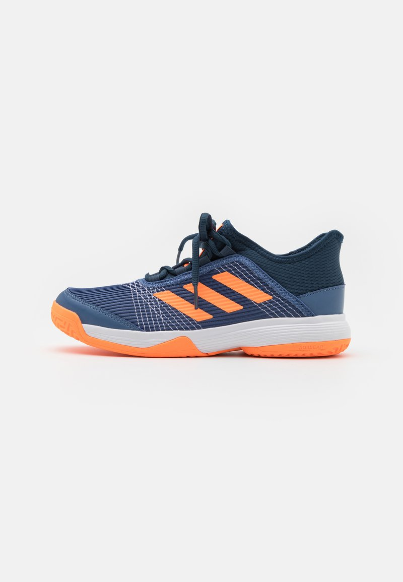 adidas Performance - ADIZERO CLUB UNISEX - Multicourt tennis shoes - crew blue/screaming orange/crew navy