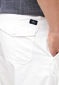 s.Oliver - Shorts - white - 3