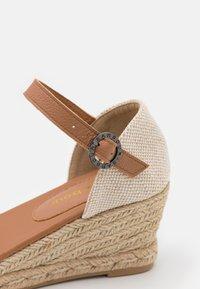 Barbour - BARBOUR ANGELINE - Wedge sandals - sand - 5