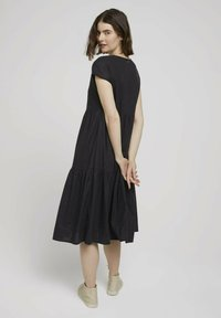 TOM TAILOR DENIM - Day dress - deep black - 2