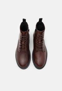Selected Homme - SLHTIM BOOT - Lace-up ankle boots - demitasse - 3