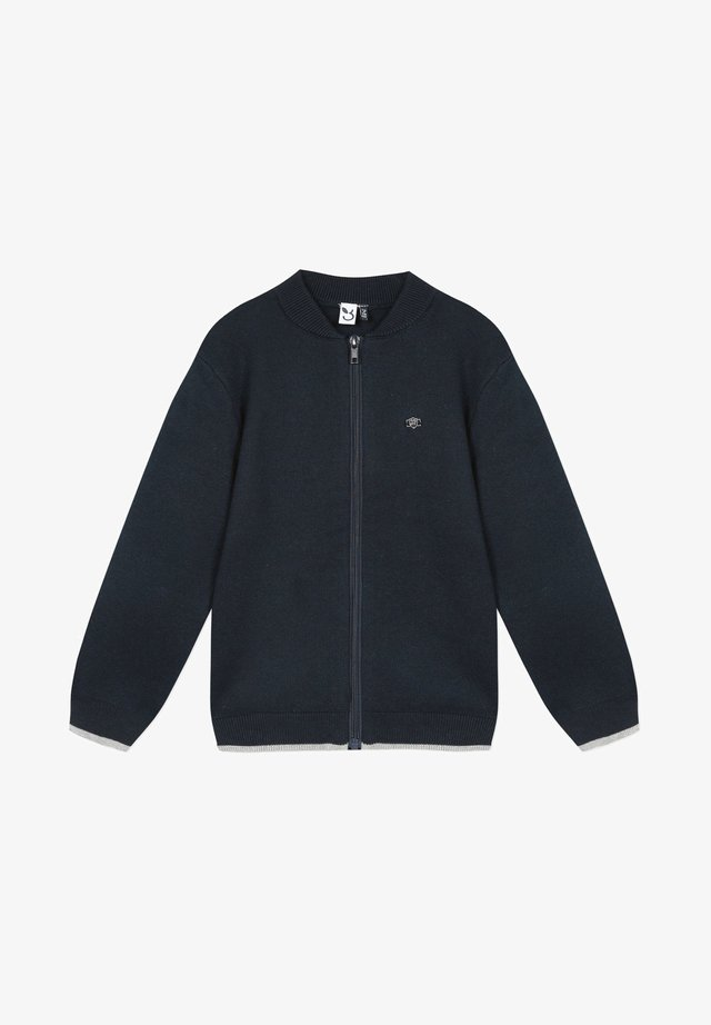 Zip-up hoodie - marine blue