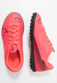 Nike Performance - MERCURIAL VAPOR 13 CLUB TF - Astro turf trainers - laser crimson/black - 0